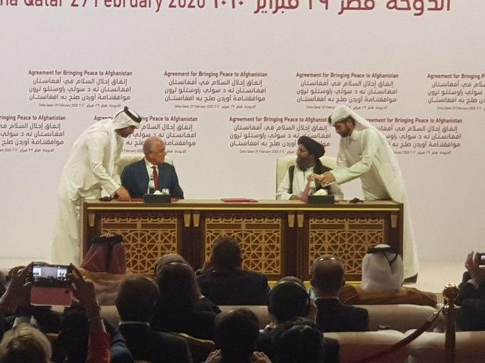 US & Taliban Formally Signed Peace Agreement in Doha