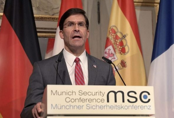 Taliban Deal Is Promising But Not Without Risk: Esper