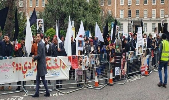 Pashtuns Hold Anti-Pakistan Protest in London