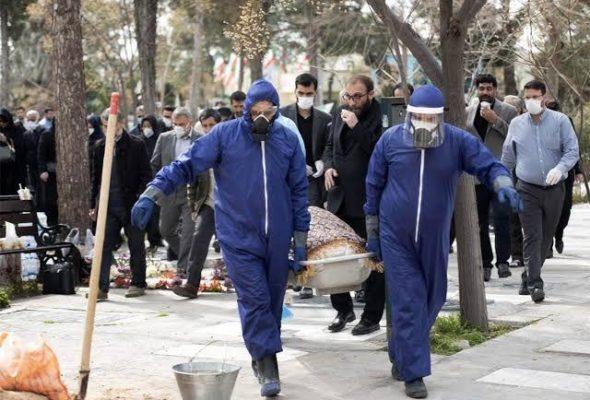 Iran's COVID-19 Death Toll Tops 2,500