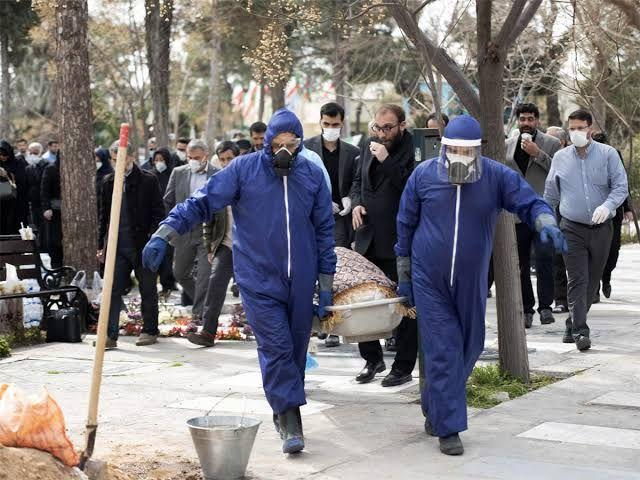 Iran's COVID-19 Death Toll Tops 2,500
