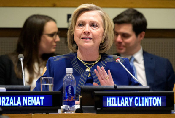 Afghanistan Peace Prospects 'Slim' Without Women's Participation: Hillary Clinton