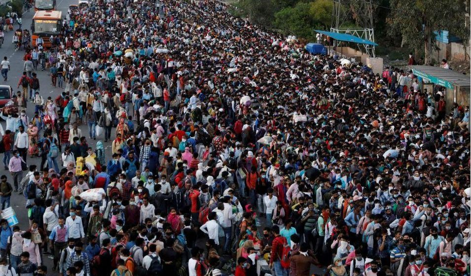 India's 21-Day Lockdown Causes Millions to Migrate