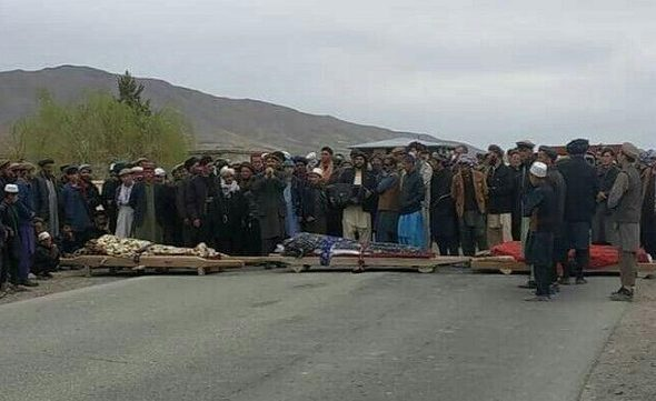 Protesters Blocked Takhar-Badakhshan Highway