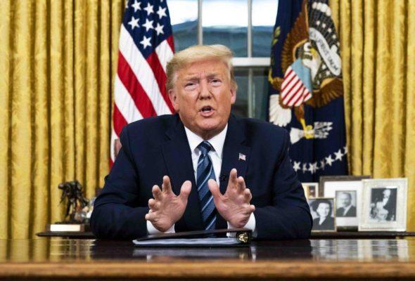 Trump Reiterates US Readiness to Help Iran With Ventilators Amid COVID-19 Spread