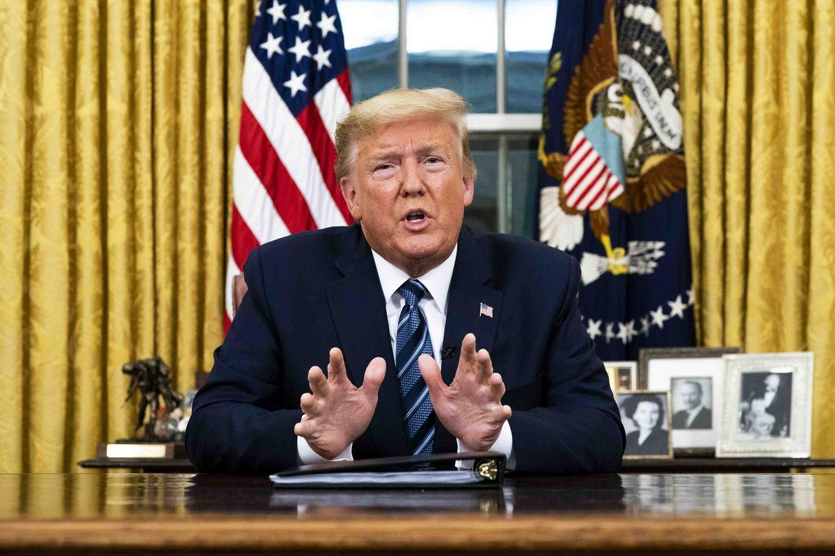 Trump Says Coronavirus Restrictions Could Be Eased Within Weeks