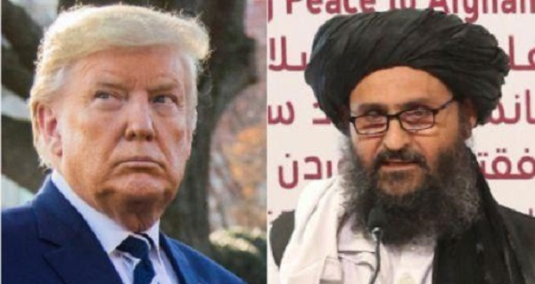 Trump Discusses Afghan Peace Deal With Top Taliban Leader