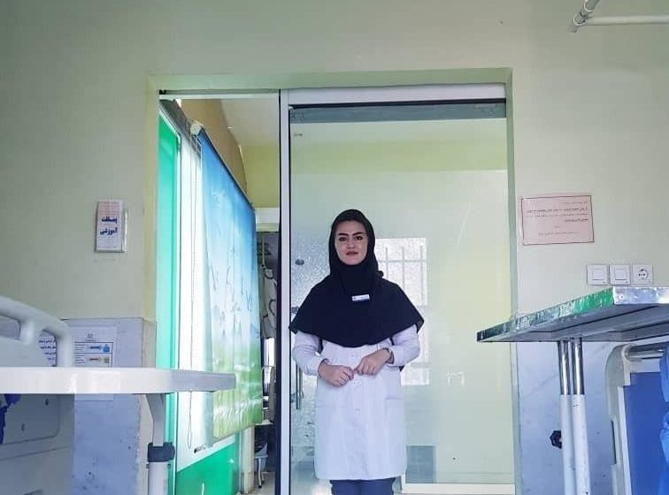 From Daikundi to Mashhad; Dr. Najiba Gholami, the Last Year of Education and Championship in the Coronavirus Era