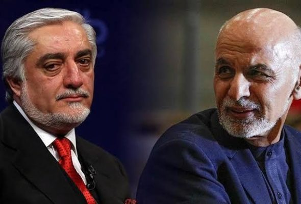 Ghani Says Peace Process Should Be Led by Abdullah