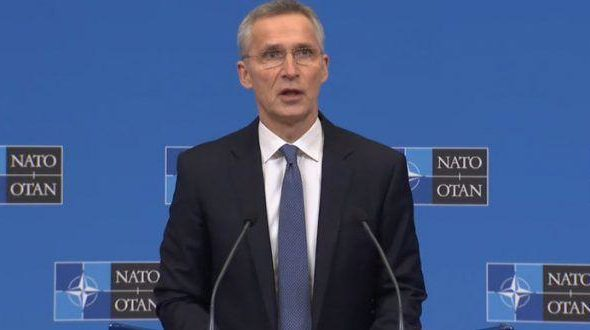 Stoltenberg Hints on Reducing Military Presence in Afghanistan