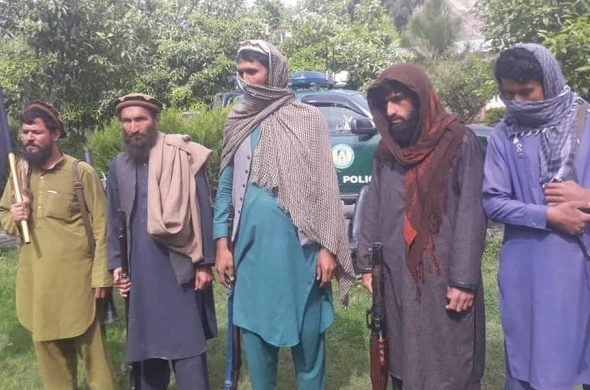 Five IS-K Terrorists Surrendered to Afghan Forces in Kunar