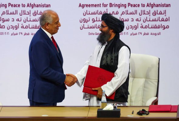 Taliban Violence at 'High Levels' Can Hurt US-Taliban Peace Deal