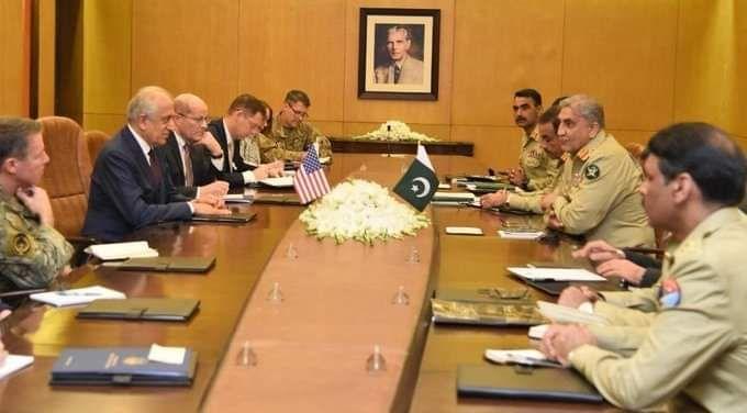 US Envoy Khalilzad & Gen. Miller Met Pakistani Officials, Discussed Peace Efforts