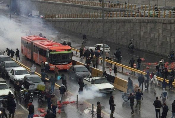 Police Fires at Water Shortage Protest in Southwest Iran