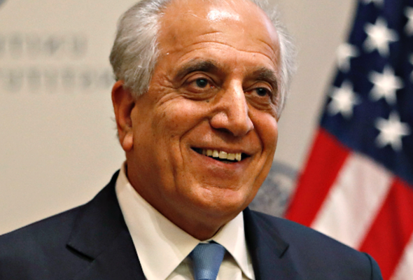 US Envoy Khalilzad Arrives in Kabul for Intra-Afghan Peace Talks