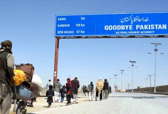 Pakistan Opened Its Border at Chaman