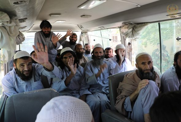 Nearly 900 Taliban Prisoners to be Released Today