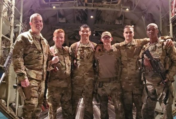C-130 Hercules Crew Receives US Air Force Combat Medal After RPG Attack