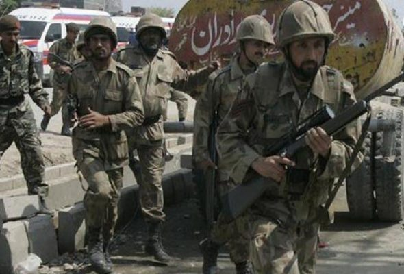 Developing: Four Gunmen Attack Pakistan Stock Exchange In Karachi