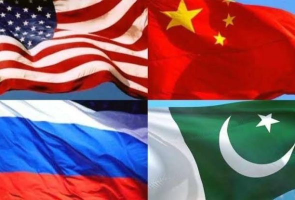 US, China, Russia, Pakistan Discuss Intra-Afghan Talks