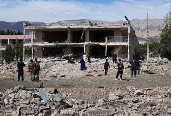 International Community Joins Ghani In Condemning Taliban Suicide Attack In Samangan