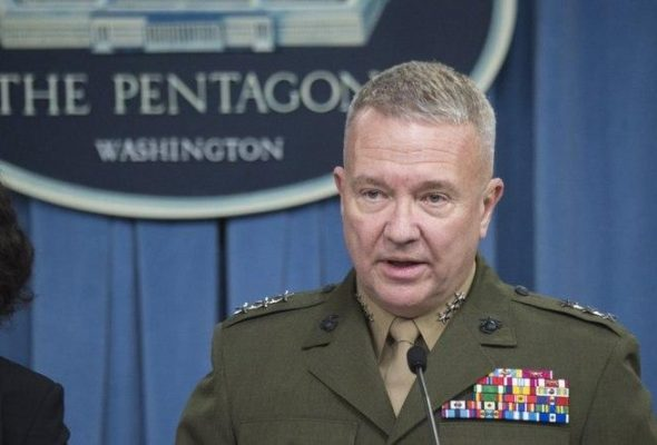 CENTCOM Chief: Afghanistan Seeing Highest, Most Violent Period Of The War To Date