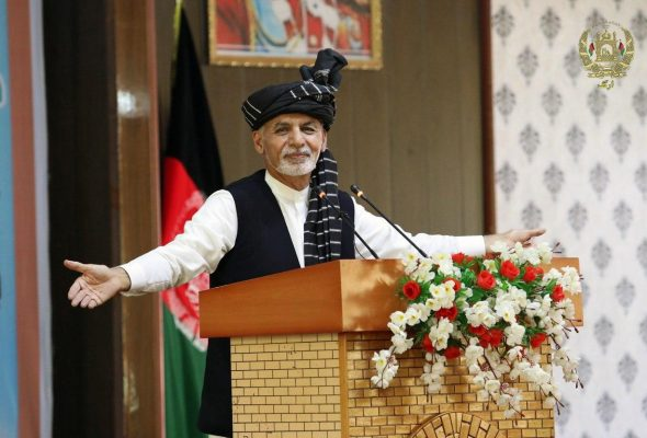 Ghani In Ghazni: Peace Is Divine Order And We Are Committed To It