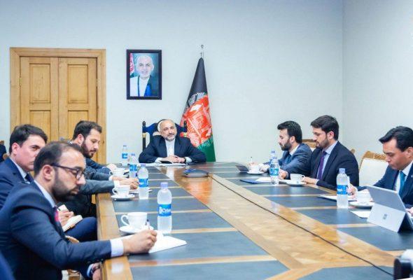 Trilateral Meeting Of Afghanistan, Turkmenistan, Azerbaijan FM Held