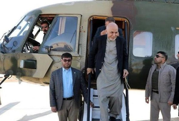 Ghani In Kapisa: We Don't Want Peace To Destroy Us