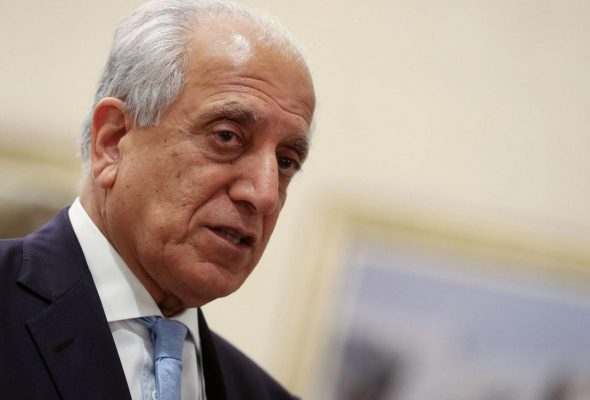 Khalilzad Headed To Qatar Then Afghanistan To Push for Peace Talks