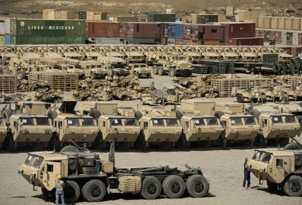 Pentagon: Afghan Military Equipment Untracked Due To Lack Of Electricity, Internet, Training