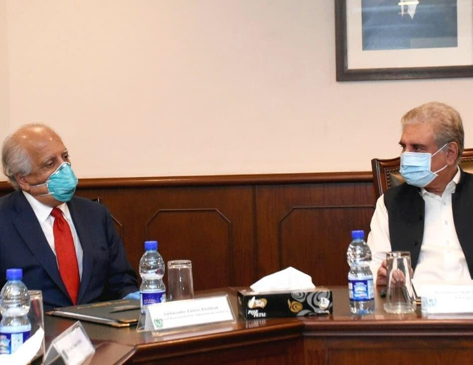 Khalilzad And Pakistan FM Qureshi Agree Latest Developments 'Conducive' To Afghan Peace