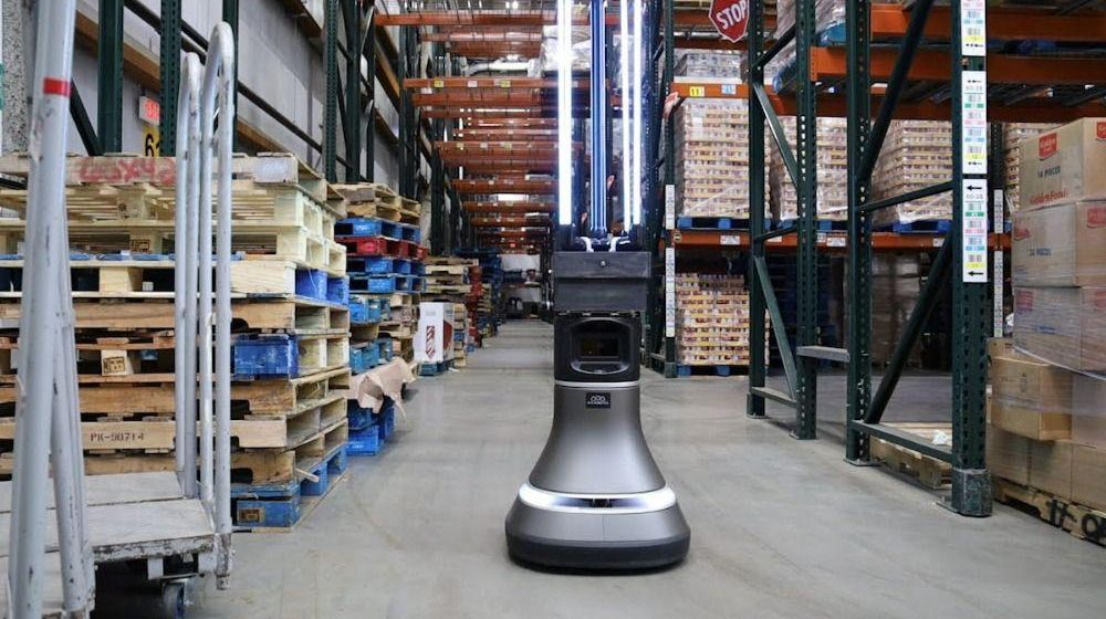 MIT-Designed Robot Disinfects Warehouse Floor in 30 Minutes