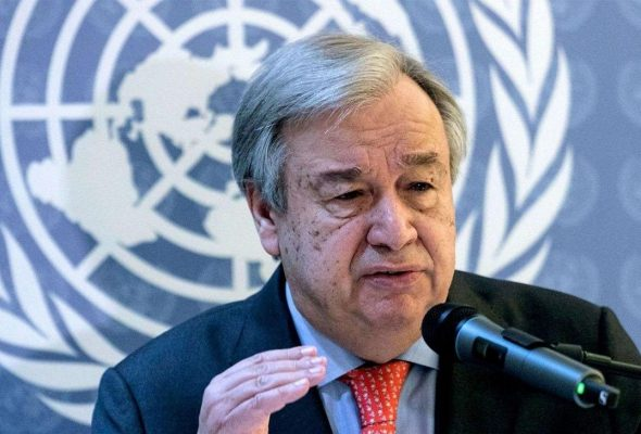 UN Sec-Gen Calls On All Parties To Reduce Violence 'Immediately, Without Preconditions""