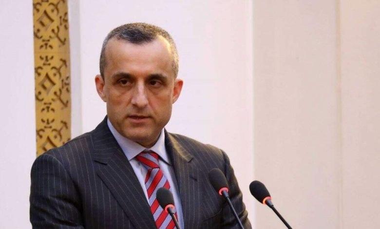 Saleh: Taliban Must Understand Negotiations Do Not Mean Surrendering To Demands