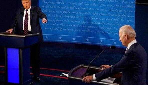 Chaotic First Presidential Debate As Insults Fly, Trump Taunts Biden