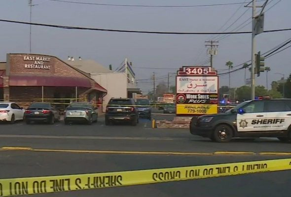 Gunman Dead After Shooting In Afghan Market In California