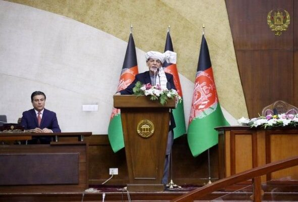 Ghani: Ask Mullah Hibatullah Why He Is Killing Afghans