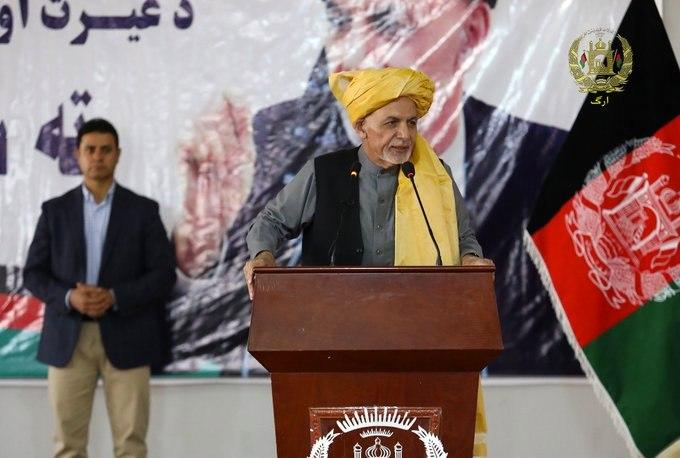 Ghani Under Fire After Claim Of Having 'Rebuilt Whole Of Afghanistan' Goes Viral