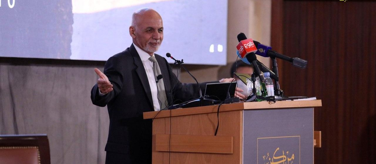 Ghani: Afghan Peace Cannot Be Of Factions, People Must Come First