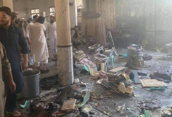 Blast At Religious School In Pakistan's Peshawar Kills 7