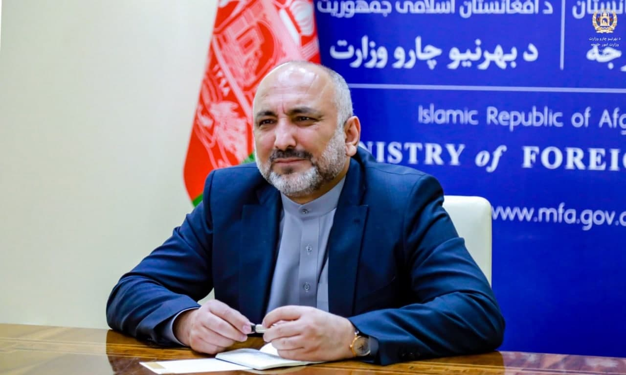 Peace With Taliban Does Not Mean End to International Terrorism: Atmar