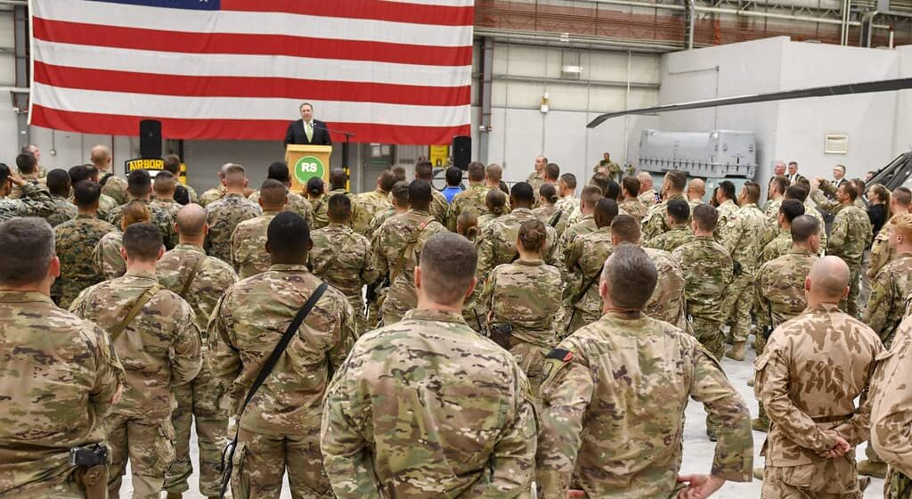 Pompeo Supports Troops Withdrawal from Afghanistan, Hails Peace Negotiations