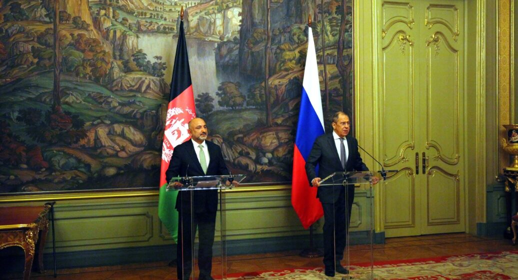 Russia FM Calls on Taliban to Reduce Violence