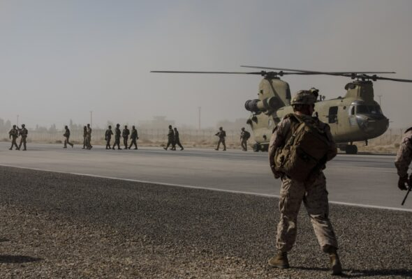It's A Hasty, Quiet Withdrawal For Most Foreign Troops From Afghanistan