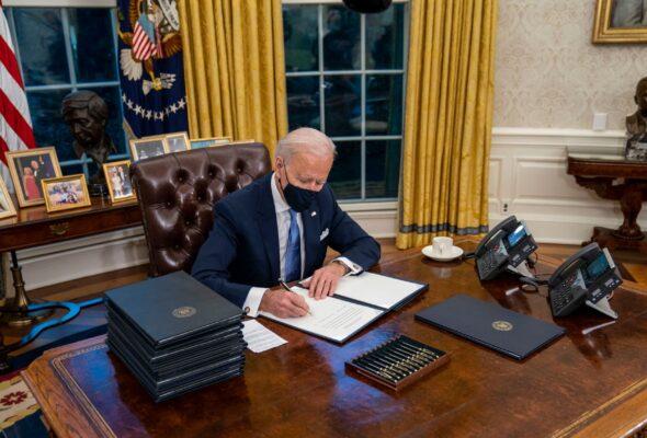 Biden Signs Legislation To Increase Visas For Allies Who Worked Alongside US Troops In Afghanistan