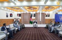 President Ghani Arrives In Balkh To Review Security Situation