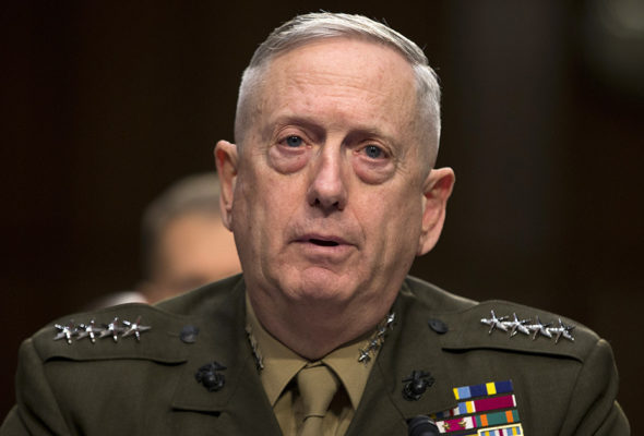 US Defense Secretary Mattis Asks Everyone to Support Afghan and Indian Efforts at Peace