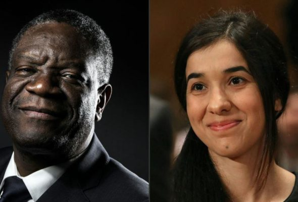Nobel Peace for Flagbearers of Anti-Sexual Violence