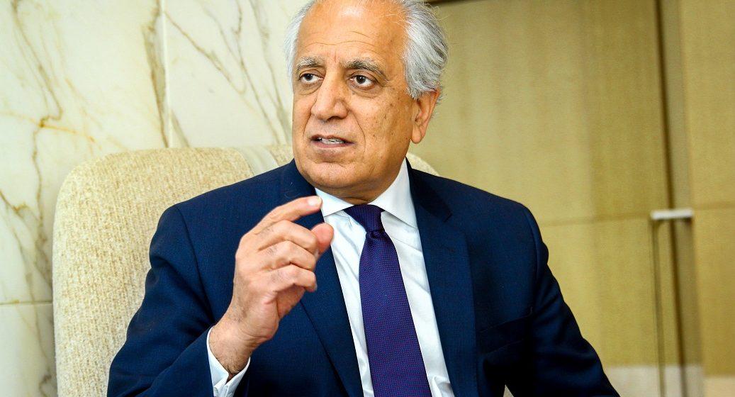 Afghans Deserve Peace After 4 Decades of War: US Envoy Khalilzad